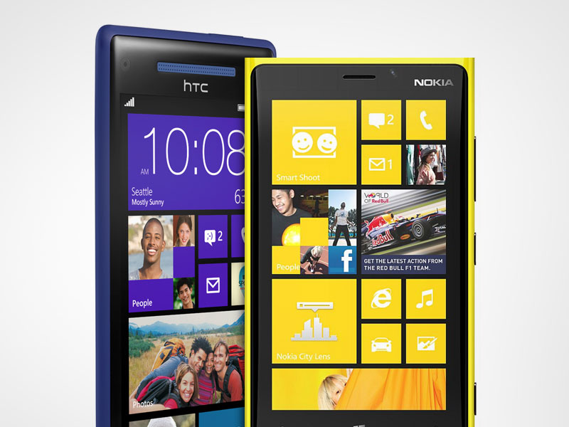 Nokia Lumia 920 & HTC 8X